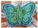 PaperArtsy Cutting Die by Lin Brown - Butterfly